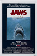 """Movie Posters:Horror, Jaws (Universal, 1975). One Sheet (27"""" X 41""""). Horror...."""