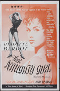 "Movie Posters:Sexploitation, That Naughty Girl (Films Around the World, 1956). One Sheet (27"" X42""). Sexploitation...."