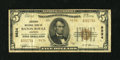 National Bank Notes:Louisiana, Baton Rouge, LA - $5 1929 Ty. 2 The Louisiana NB Ch. # 9834. ...