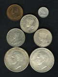 Australia, Australia: Selection of Crowns and Minors,... (Total: 7 coins)
