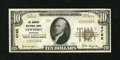 National Bank Notes:Kentucky, Newport, KY - $10 1929 Ty. 1 The Newport NB Ch. # 4765. ...