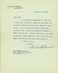 Autographs:U.S. Presidents, Franklin D. Roosevelt: Typed Letter Signed as President....
