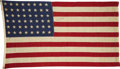 Autographs:U.S. Presidents, Franklin D. Roosevelt: Rare Signed 48-Star Flag....