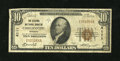 National Bank Notes:Missouri, Chillicothe, MO - $10 1929 Ty. 1 The Citizens NB Ch. # 4111. ...