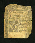 Colonial Notes:Connecticut, Connecticut June 7, 1776 1s Good-Very Good....