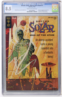 Doctor Solar #1 (Gold Key, 1962) CGC VF+ 8.5 Cream to off-white pages