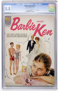 Silver Age (1956-1969):Romance, Barbie and Ken #1 (Dell, 1962) CGC FN- 5.5 Cream to off-white pages....