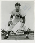 Autographs:Photos, Sandy Koufax Signed Photograph. There was a point in time that thebruising lefty Sandy Koufax simply owned the National Le...