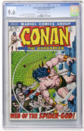 Bronze Age (1970-1979):Superhero, Conan the Barbarian #13 (Marvel, 1972) CGC NM+ 9.6 Cream to off-white pages....