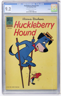 Huckleberry Hound #17 File Copy (Dell, 1962) CGC NM- 9.2 Off-white to white pages