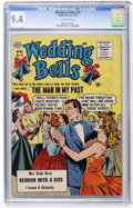 Silver Age (1956-1969):Romance, Wedding Bells #16 (Quality, 1956) CGC NM 9.4 Off-white pages....
