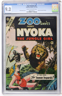 Zoo Funnies #8 (Charlton, 1954) CGC NM- 9.2 Cream to off-white pages