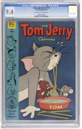 Golden Age (1938-1955):Cartoon Character, Tom and Jerry #117 (Dell, 1954) CGC NM 9.4 Off-white to whitepages....