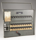 Political:3D & Other Display (1896-present), Presidential Election of 1940, Instructional Automatic VotingMachine. ...