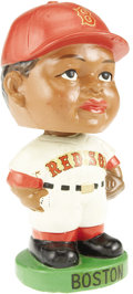 Baseball Collectibles:Others, 1963-65 Boston Red Sox Black Face Nodder. The long and noble history of the Boston Red Sox franchise is marred by one unhap...
