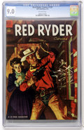 Golden Age (1938-1955):Western, Red Ryder Comics #129 (Dell, 1954) CGC VF/NM 9.0 Off-white pages....