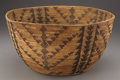 American Indian Art:Baskets, A CALIFORNIA POLYCHROME COILED BOWL. c. 1920...