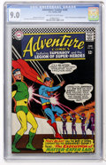 Silver Age (1956-1969):Superhero, Adventure Comics #345 (DC, 1966) CGC VF/NM 9.0 Off-white to white pages....