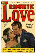 Golden Age (1938-1955):Romance, Romantic Love #1 (Avon, 1949) Condition: FN....