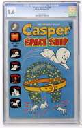 Bronze Age (1970-1979):Cartoon Character, Casper Spaceship #4 File Copy (Harvey, 1973) CGC NM+ 9.6 Cream tooff-white pages....