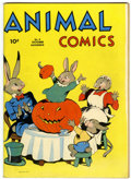 Golden Age (1938-1955):Funny Animal, Animal Comics #5 (Dell, 1943) Condition: FN....