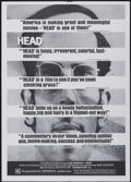 "Movie Posters:Rock and Roll, Head (Columbia, 1968). One Sheet (27"" X 41"") Style C. Rock andRoll...."