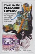 """Movie Posters:Cult Classic, Psych-Out (American International, 1968). One Sheet (27"""" X 41"""").Cult Classic...."""