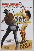 """Movie Posters:Adult, Brand of Shame (FPS Ventures, 1968). One Sheet (27"""" X 41""""). Adult...."""