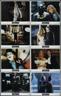 "Movie Posters:Action, Batman (Warner Brothers, 1989). Lobby Card Set of 8 (11"" X 14"").Action.... (Total: 8 Items)"