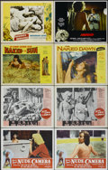 "Movie Posters:Sexploitation, Bunny Yeager's Nude Camera (Cinema Syndicate Inc., 1963). LobbyCards (8) (11"" X 14""). Sexploitation.... (Total: 8 Items)"