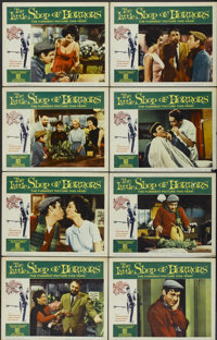 "The Little Shop of Horrors (Allied Artists, 1960). Lobby Card Set of 8 (11"" X 14""). Comedy.... (Total: 8 Items..."