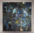 Lapidary Art:Tables / Tabletops, LABRADORITE END TABLE TOP. ...