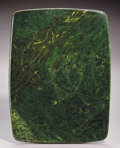 Lapidary Art:Tables / Tabletops, NEPHRITE JADE TABLETOP. ...