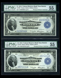 $1 1918 Federal Reserve Bank Notes