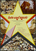 """Movie Posters:Rock and Roll, Love and Music (Constantin Film, 1971). German A1 (23"""" X 33""""). Rock and Roll...."""
