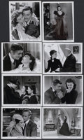 "Movie Posters:Academy Award Winner, Gone with the Wind (MGM, R-1947). Black and White Stills (8) (8"" X10.25""). Academy Award Winner.... (Total: 8 Items)"
