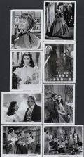"Movie Posters:Academy Award Winner, Gone with the Wind (MGM, R-1947). Black and White Stills (8"" X10.25""). Academy Award Winner.... (Total: 8 Items)"