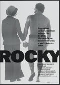 "Movie Posters:Sports, Rocky (United Artists, 1976). German A1 (23"" X 33""). Sports...."