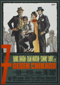 "Movie Posters:Comedy, Robin and the 7 Hoods (Warner Brothers, 1964). German A1 (23"" X 33""). Comedy...."