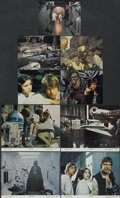 """Movie Posters:Science Fiction, Star Wars (20th Century Fox, 1977). Lobby Cards (4) (11"""" X 14"""") andColor Stills (5) (8"""" X 10""""). Science Fiction.... (Total: 9 Items)"""