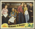 "Movie Posters:Western, Romance on the Range (Republic, 1942). Lobby Card (11"" X 14""). Western...."