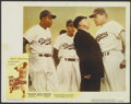 "Movie Posters:Sports, The Jackie Robinson Story (Eagle Lion, 1950). Lobby Card (11"" X 14""). Sports...."
