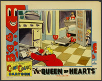 "The Queen of Hearts (Celebrity Productions, 1934). Lobby Card (11"" X 14""). Animated"