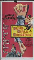 "Movie Posters:Crime, Guns, Girls and Gangsters (United Artists, 1959). One Sheet (27"" X41""). Crime...."