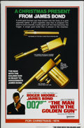 "Movie Posters:James Bond, The Man With the Golden Gun (United Artists, 1974). One Sheet (27""X 41"") Advance. James Bond...."