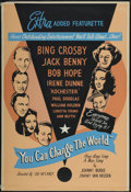 "Movie Posters:Short Subject, You Can Change the World (Christophers, 1951). One Sheet (28"" X41""). Short Subject...."