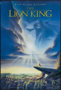 """Movie Posters:Animated, The Lion King (Buena Vista, 1994). One Sheet (27"""" X 40"""") DS. Animated...."""