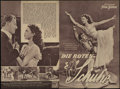 """Movie Posters:Fantasy, The Red Shoes (Eagle Lion, 1948). German Herald (7"""" X 10.5""""). Fantasy...."""