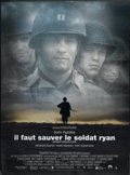 "Movie Posters:War, Saving Private Ryan (Paramount, 1998). French Grande (45"" X 62"").War...."