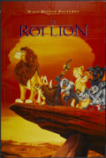 "Movie Posters:Animated, The Lion King (Buena Vista, 1994). French Grande (41.5"" X 61.5"").Animated...."